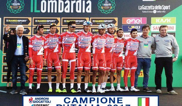 SQUADRA CAMPIONE D'ITALIA