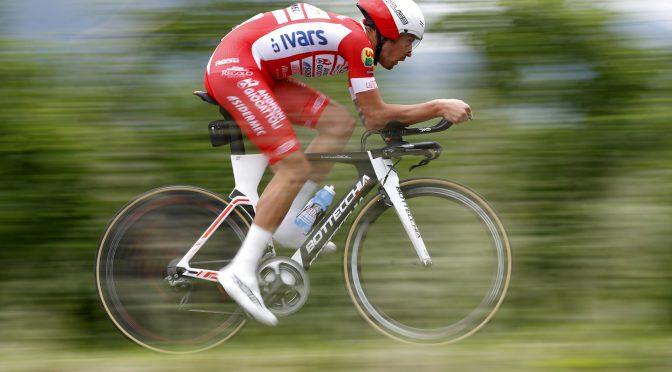 Giro d'Italia 2018 - 101th Edition - 16th stage Trento - Rovereto 34.5 km - 22/05/2018 - Mattia Cattaneo (ITA - Androni - Sidermec - Bottecchia) - photo Luca Bettini/BettiniPhoto©2018