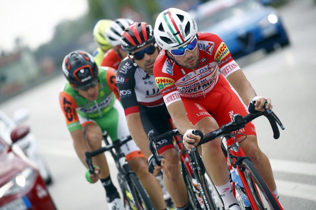 Giro d'Italia 2018 - 101th Edition - 13th stage Ferrara - Nervesa della Battaglia 180 km - 18/05/2018 - Andrea Vendrame (ITA - Androni - Sidermec - Bottecchia) - photo Luca Bettini/BettiniPhoto©2018
