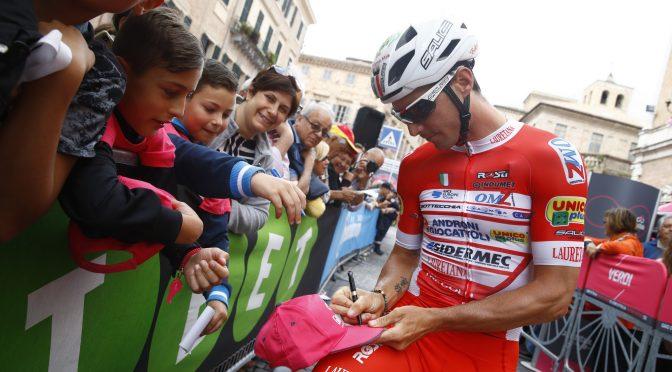 Giro d'Italia 2018 - 101th Edition - 12th stage Osimo - Imola 213 km -  - 17/05/2018 - Manuel Belletti (ITA - Androni - Sidermec - Bottecchia) - photo Luca Bettini/BettiniPhoto©2018