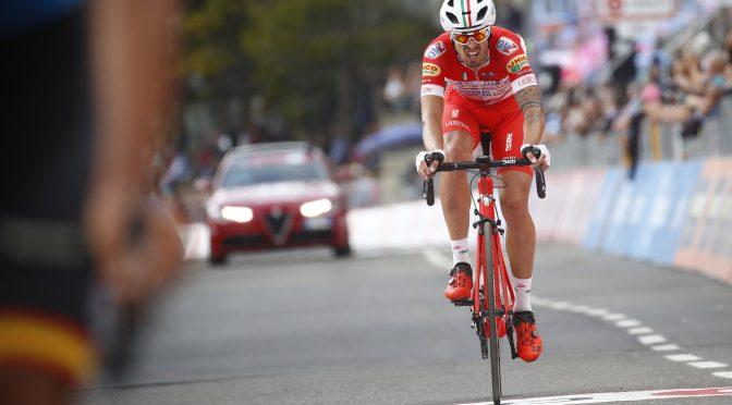 Giro d'Italia 2018 - 101th Edition - 18th stage Abbiategrasso - Prato Nevoso 196 km - 24/05/2018 - Mattia Cattaneo (ITA - Androni - Sidermec - Bottecchia) - photo Luca Bettini/BettiniPhoto©2018