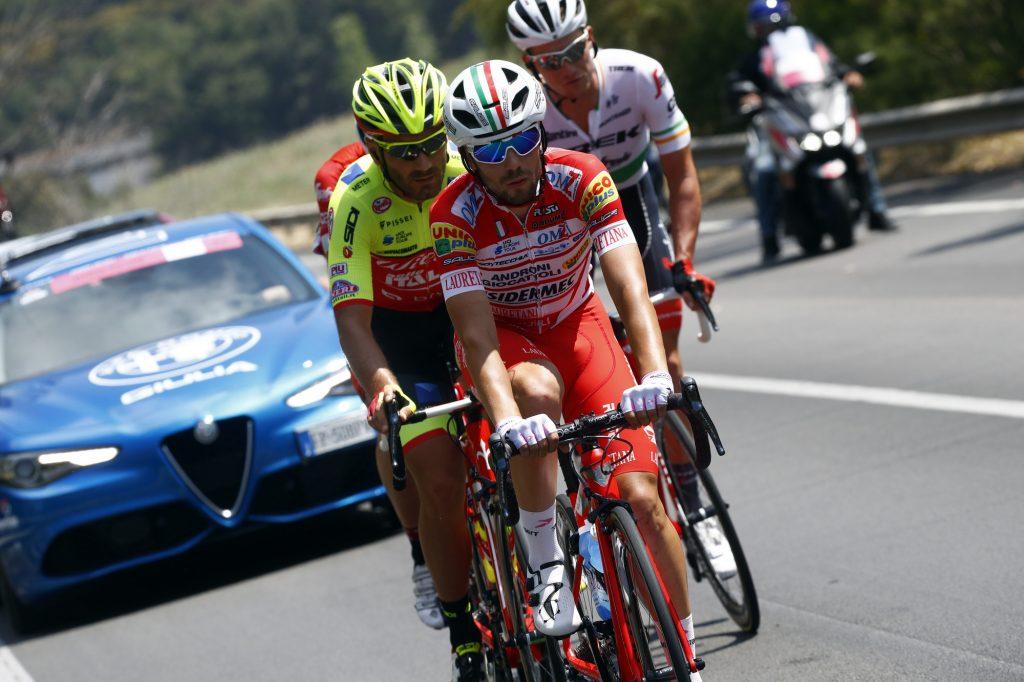Giro D'Italia 2018 - 101th Edition - 5th stage Agrigento - Santa Ninfa 152 km - 09/05/2018 - Andrea Vendrame (ITA - Androni - Sidermec - Bottecchia) - foto Luca Bettini/BettiniPhoto©2018