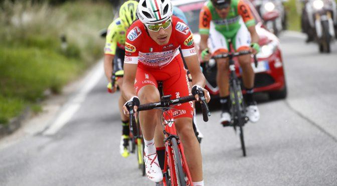 Giro d'Italia 2018 - 101th Edition - 11th stage Assisi - Osimo 156 km - 16/05/2018 - Fausto Masnada (ITA - Androni - Sidermec - Bottecchia) - photo Luca Bettini/BettiniPhoto©2018