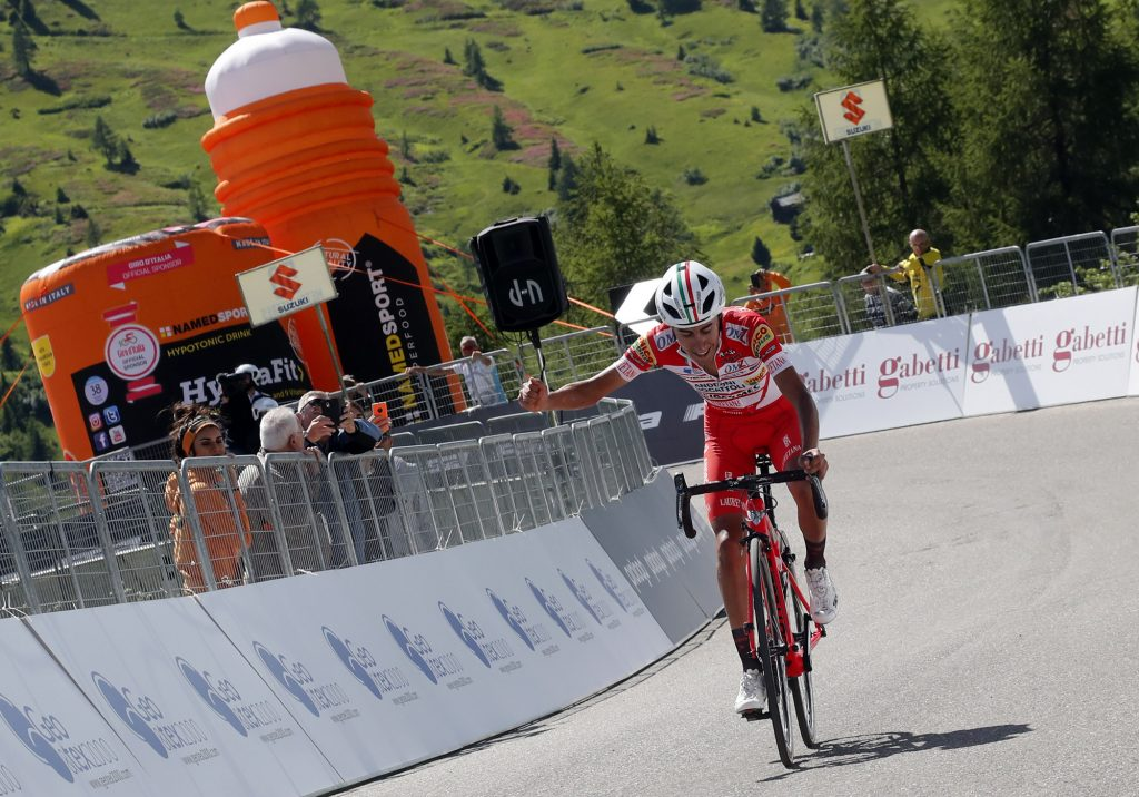 Adriatica Ionica Race 2018 - 1st Edition - 3rd stage Mussolente - Passo Giau 158,3 km - 22/06/2018 - Ivan Ramiro Sosa (COL - Androni - Sidermec - Bottecchia) - photo Roberto Bettini/BettiniPhoto©2018